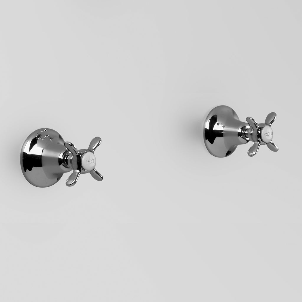 Olde English -  Classic Olde English Wall Tap Set Pair