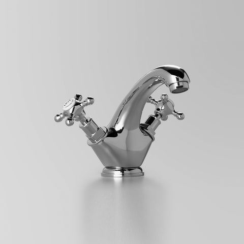 Classic Edwardian Basin Twinner 125mm fixed spout