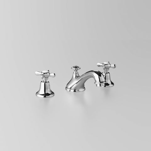 Classic Olde English Basin Set V3 115mm fixed spout