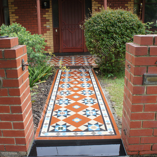 Path Heritage Tessellated Tiles Olde English Tiles
