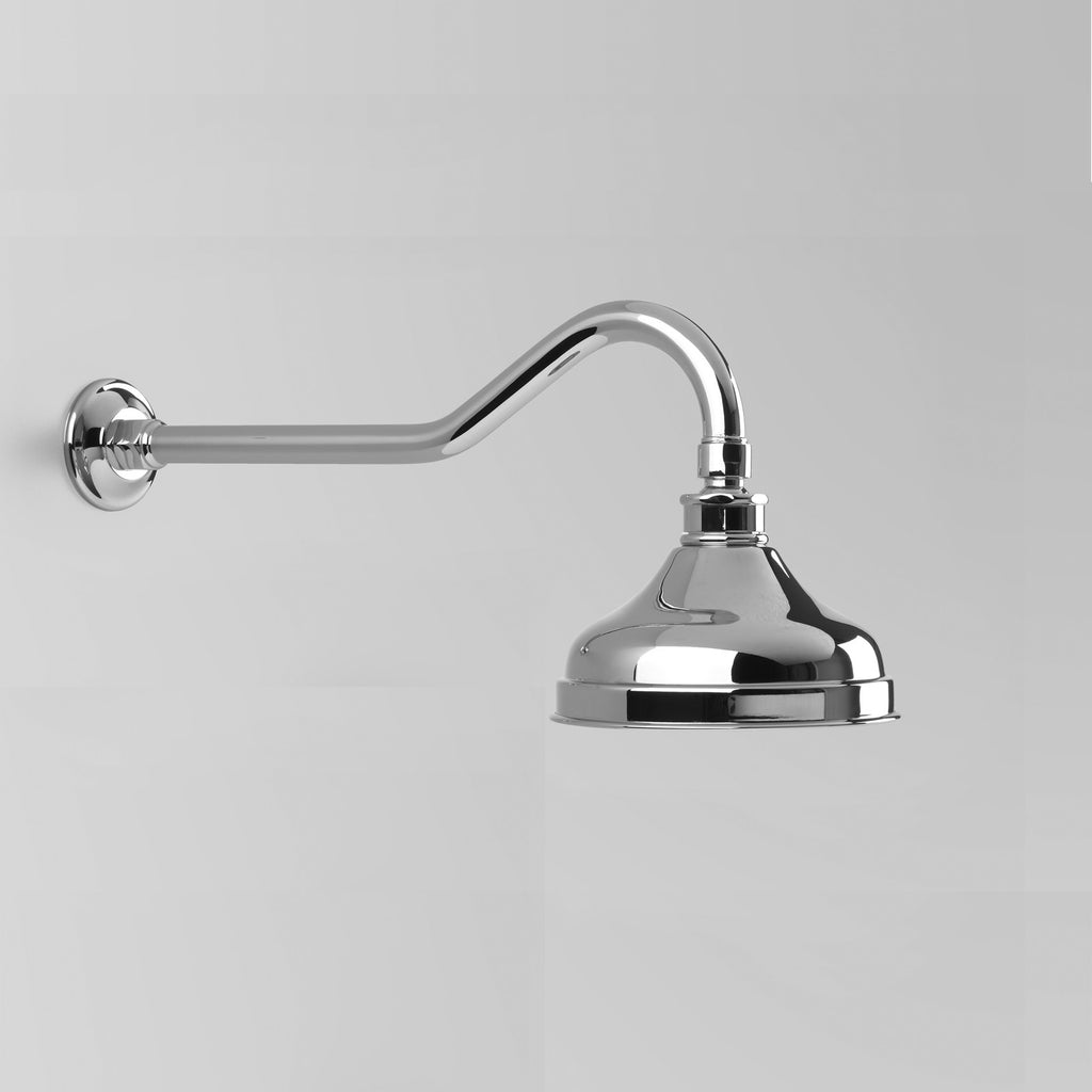 Olde English -  Classic Olde English Shower Arm & Rose Only with 150mm ball joint rose