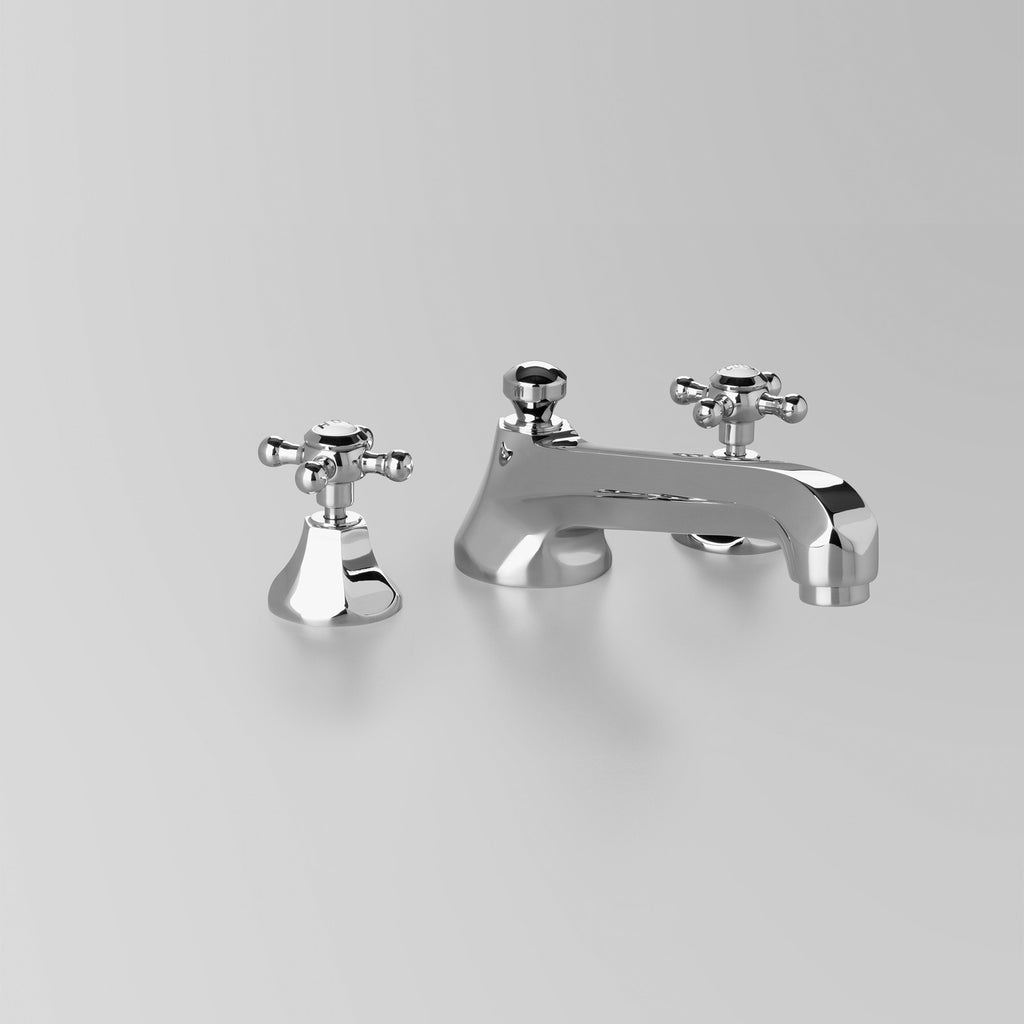Classic -  Classic Hob Spa Set 220mm quick fix spout, including bodies & tee. (flow control option)