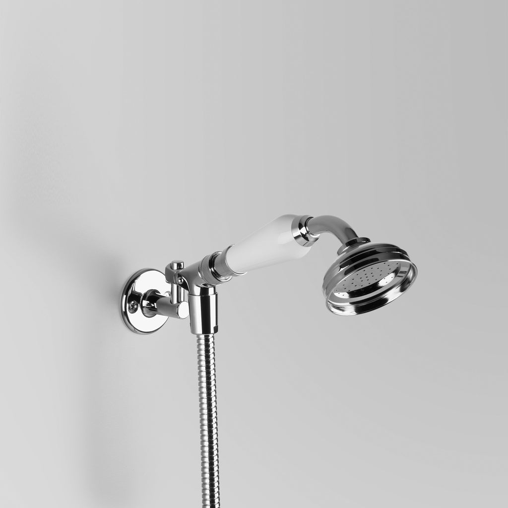 - Classic Olde English Hand Shower with hose & holder