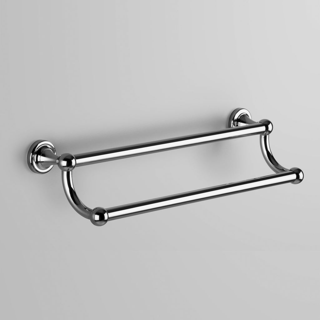 - Classic Olde English Double Towel Rail 600mm
