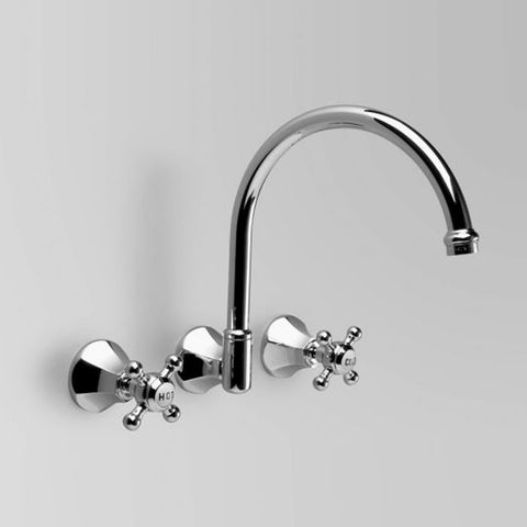 Classic Wall Set 260mm swivel spout (flow control option)
