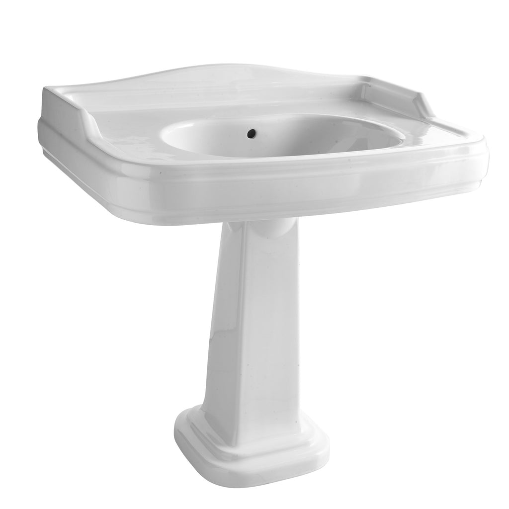 - Olde English Signature 50.91 Pedestal Basin