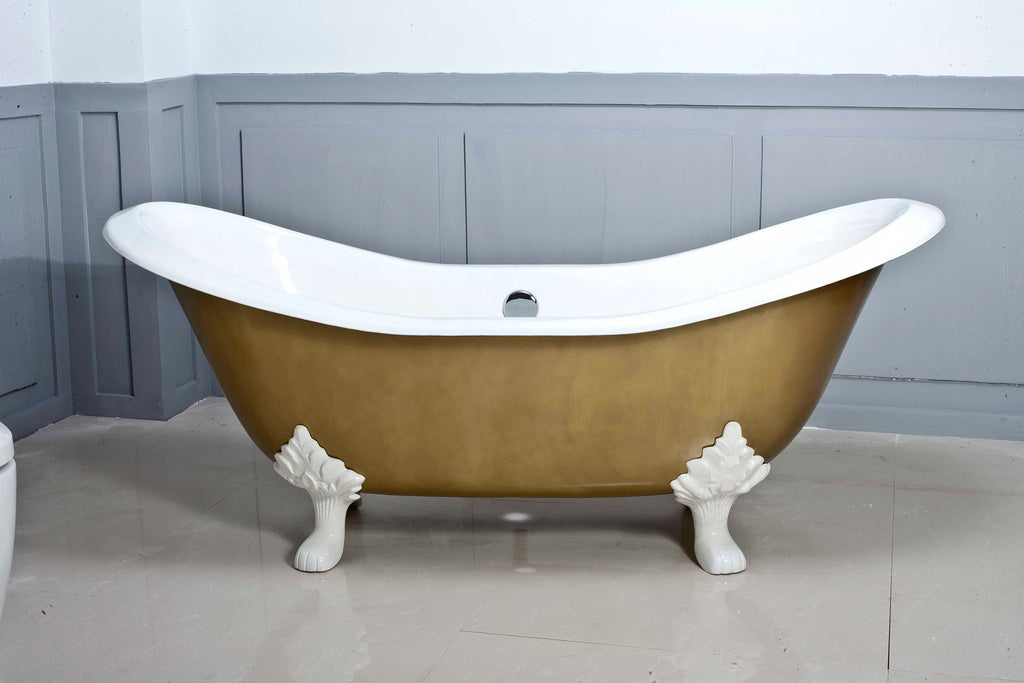 Traditional and Contemporary Baths -  Antique Cast Iron bath