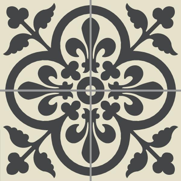 Encaustic Tiles -  Anvers 01