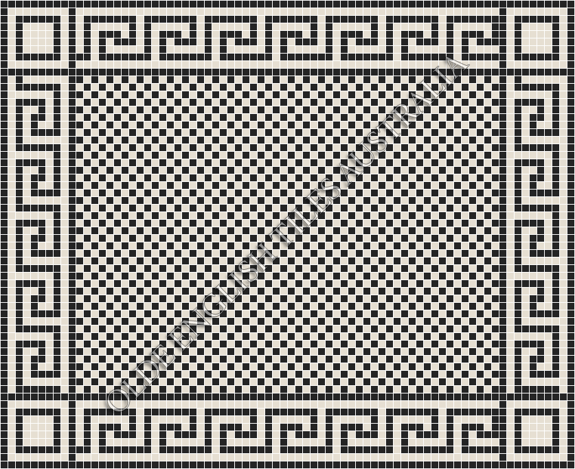 _blog-post_20-classic-mosaic-patterns - Barclay 20 Black with White Pattern