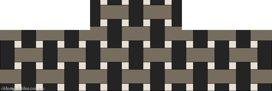 Fireplace and Heath tiles -  Basketweave - Option 1