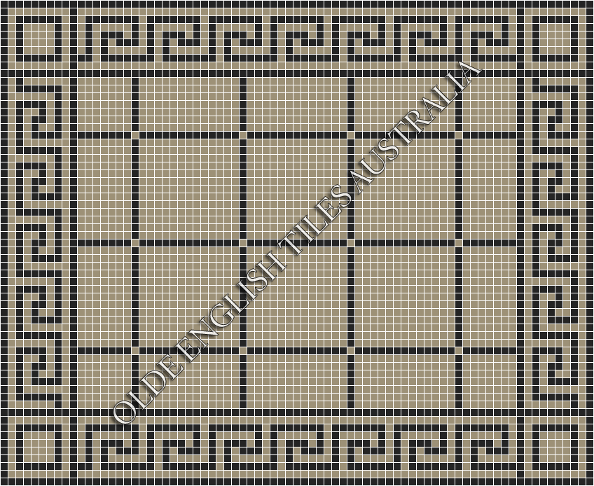 _blog-post_20-classic-mosaic-patterns - Brooklyn 20 Light Grey with Black Pattern