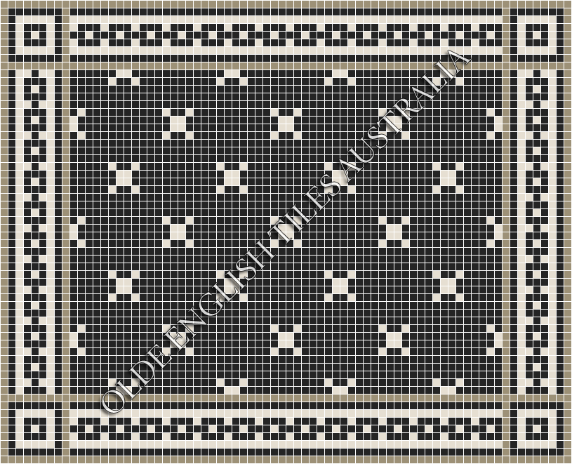_blog-post_20-classic-mosaic-patterns - Charleston 20 Black with White Pattern