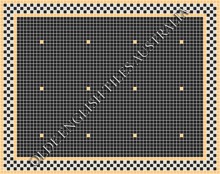 - Confetti 20 Black with Oatmeal Pattern