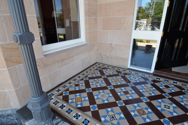 Tessellated Tiles Melbourne Patio