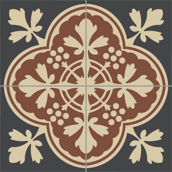 Encaustic Tiles -  Deauville 01