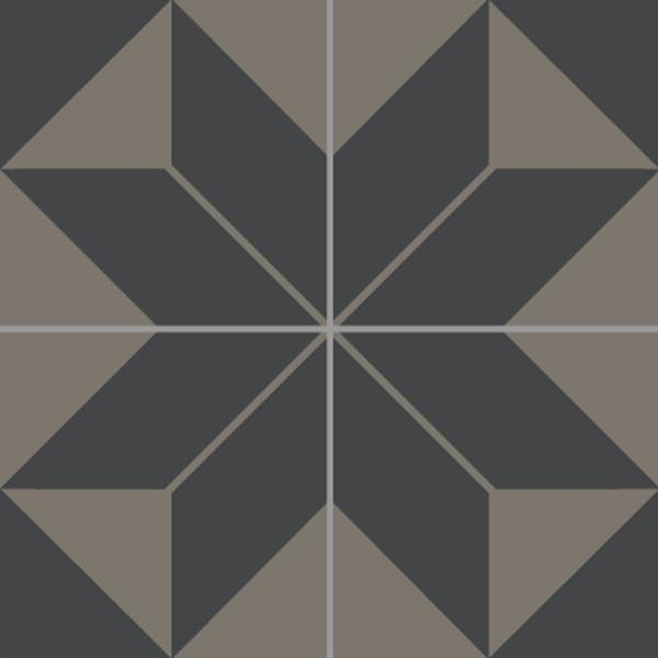 Encaustic Tiles -  Edelweiss 03