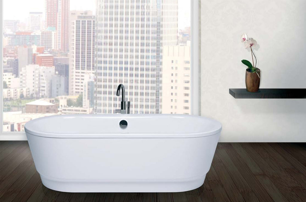 Traditional and Contemporary Baths -  Emma Freestanding Steel bath