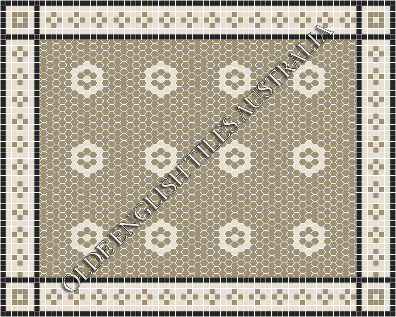 - Empire 25 Light Grey with White Pattern
