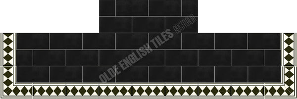 Victorian & Federation Wall Tiles Fireplace 25