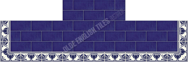 Victorian & Federation Wall Tiles Fireplace 20