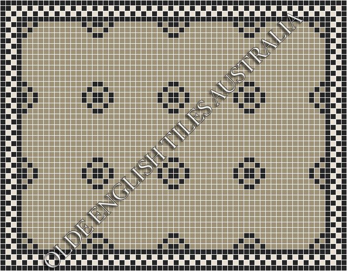 - Gatsby 20 Light Grey with Black Pattern