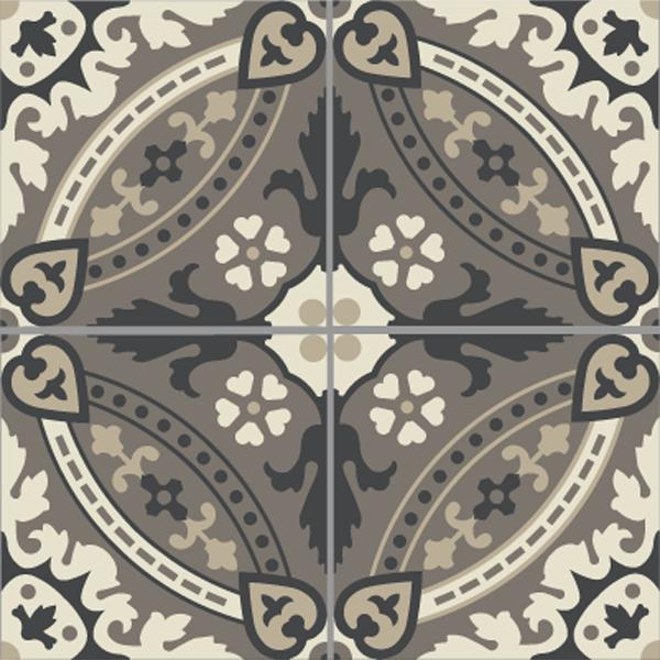 Encaustic Tiles -  Lille 02