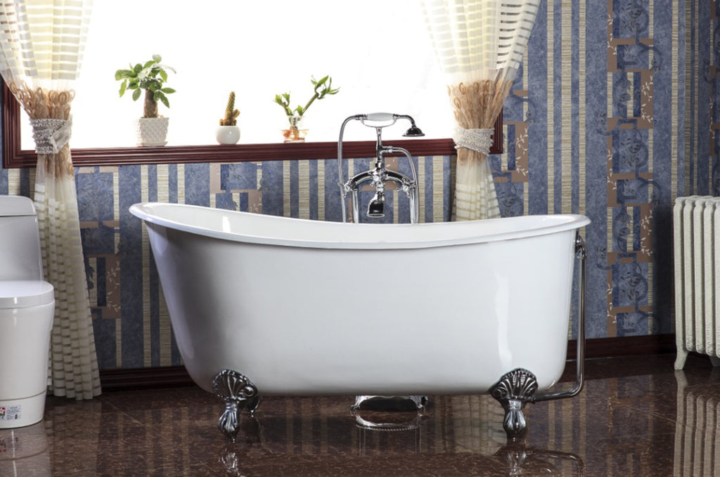 Traditional and Contemporary Baths -  Nu Cast 1370 Swedish Slipper Cast Iron bath