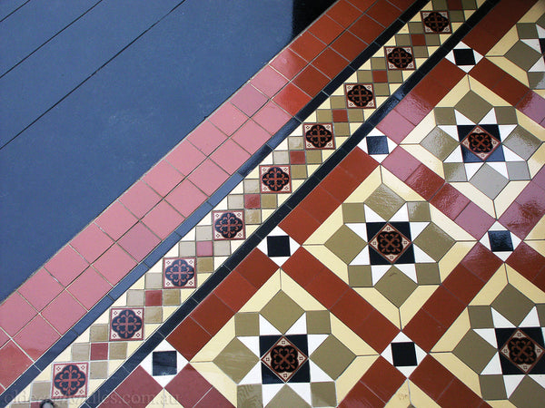 Tessellated Tiles Potts Point verandah & path