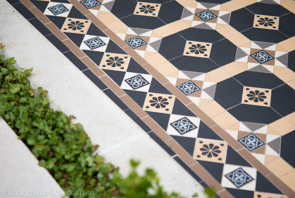 Tessellated Tiles Patterns Paddington path