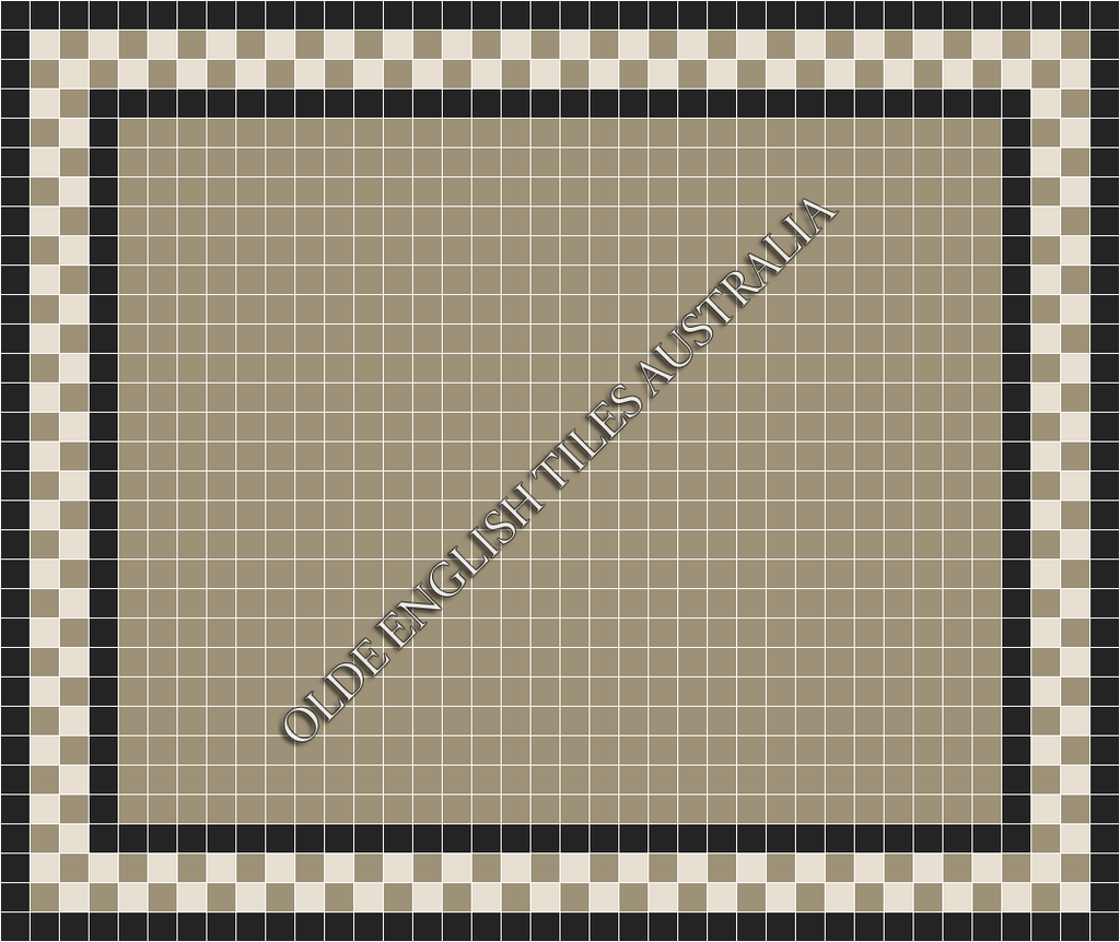 - Plain Square 50 Light Grey Mosaics