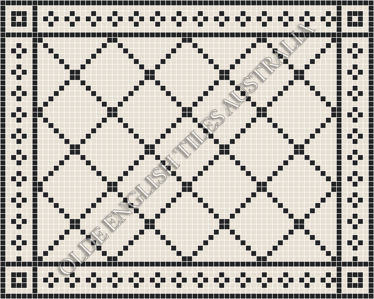 - Ritz 20 Super White with Black Pattern