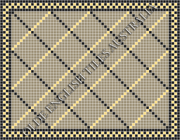 - Ritz 20 Multi Light Grey with Black and Ivory Pattern