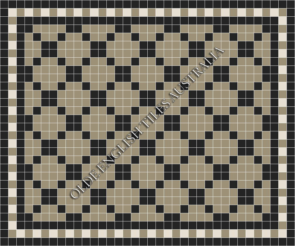 - Ritz 50 Light Grey with Black Pattern