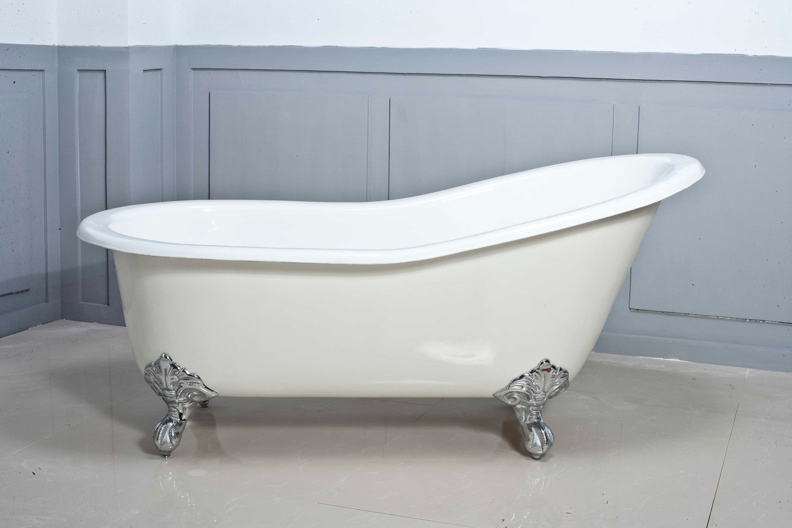 Slipper 1560 or 1700 Cast Iron bath – Olde English Tiles™