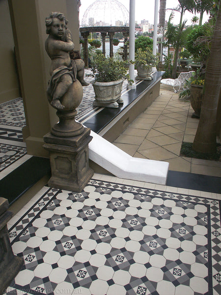 Tessellated Tiles Patterns Woollahra verandah
