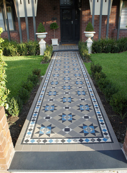 Tessellated Tiles Glebe verandah & path