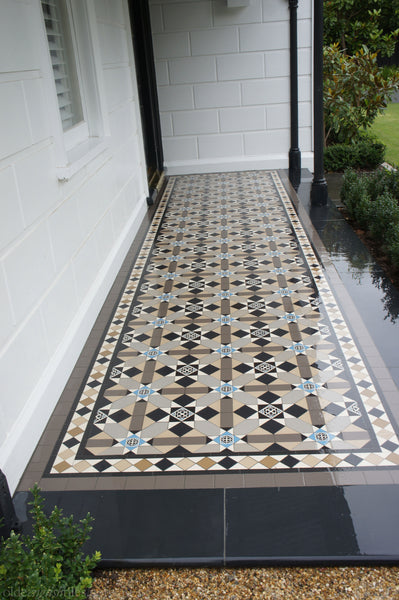 Tessellated Tiles Prahan front porch