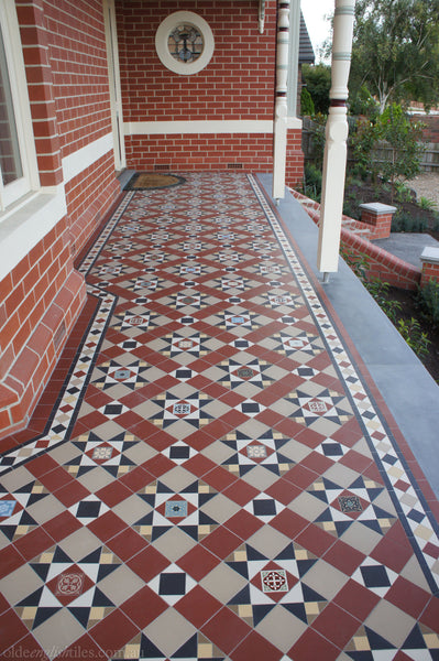 Tessellated Tiles Malvern East patio