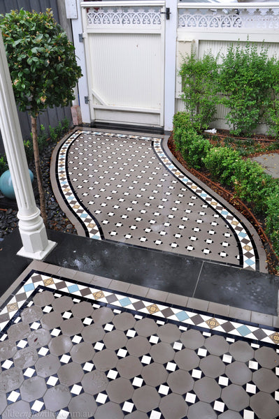 Tessellated Tiles Darling Point verandah & path