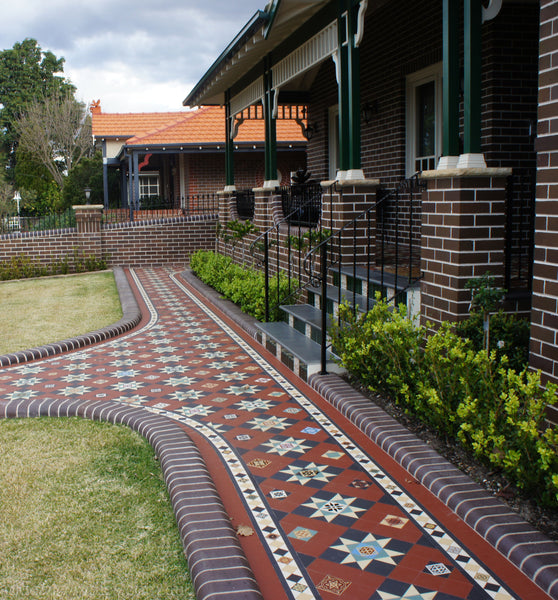 All Dazzling verandah & path, Strathfield