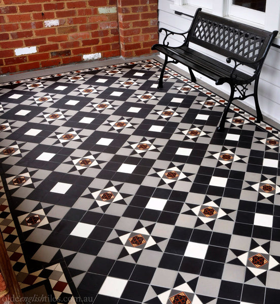 Tessellated Tiles Patterns Melbourne patio