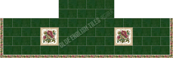Victorian & Federation Wall Tiles Fireplace 29