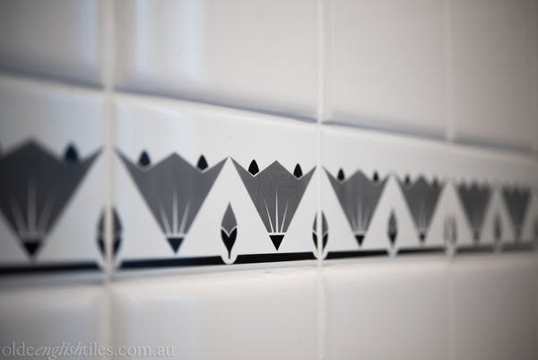 Art Deco Wall Tiles Checkerboard Classic