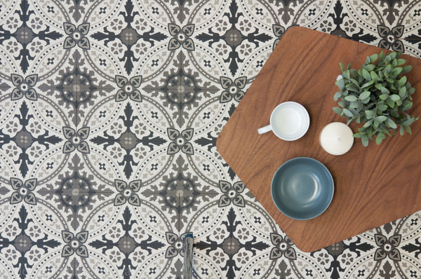Encaustic Tiles Paddington living area