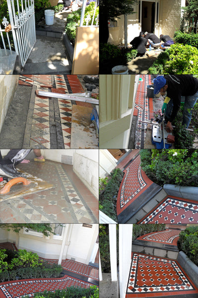Tessellated Tiles Verandah and Path Transformations 5