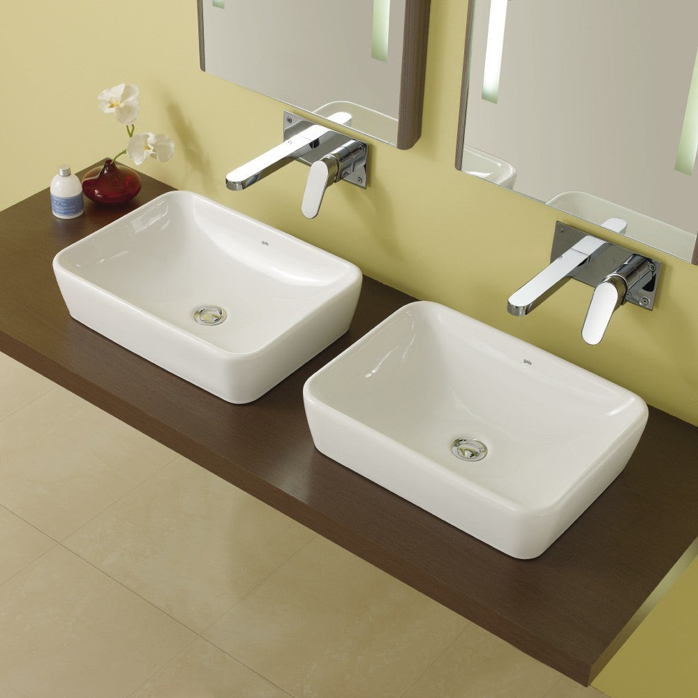 Emma Square Toilets, Bidet & Basin Range - Emma Square Over counter basin