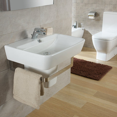 Emma Square Wall hung or over counter basin