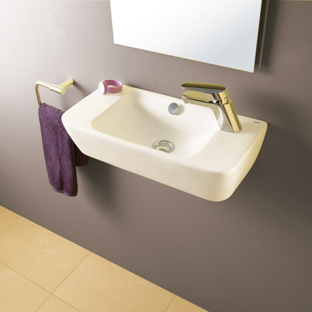 Emma Square Toilets, Bidet & Basin Range - Emma Square Wall hung or over counter basin