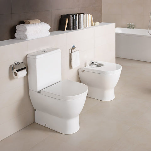 Emma BTW toilet suite with soft close seat