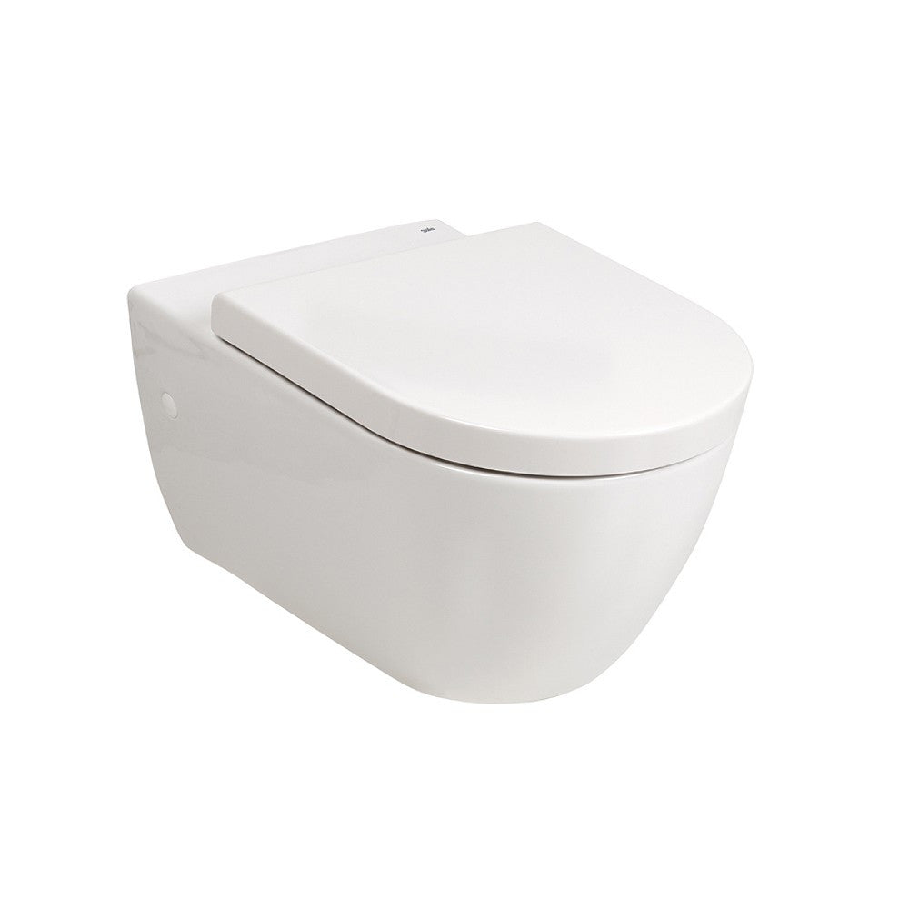 - Emma Wall hung pan with soft close seat.